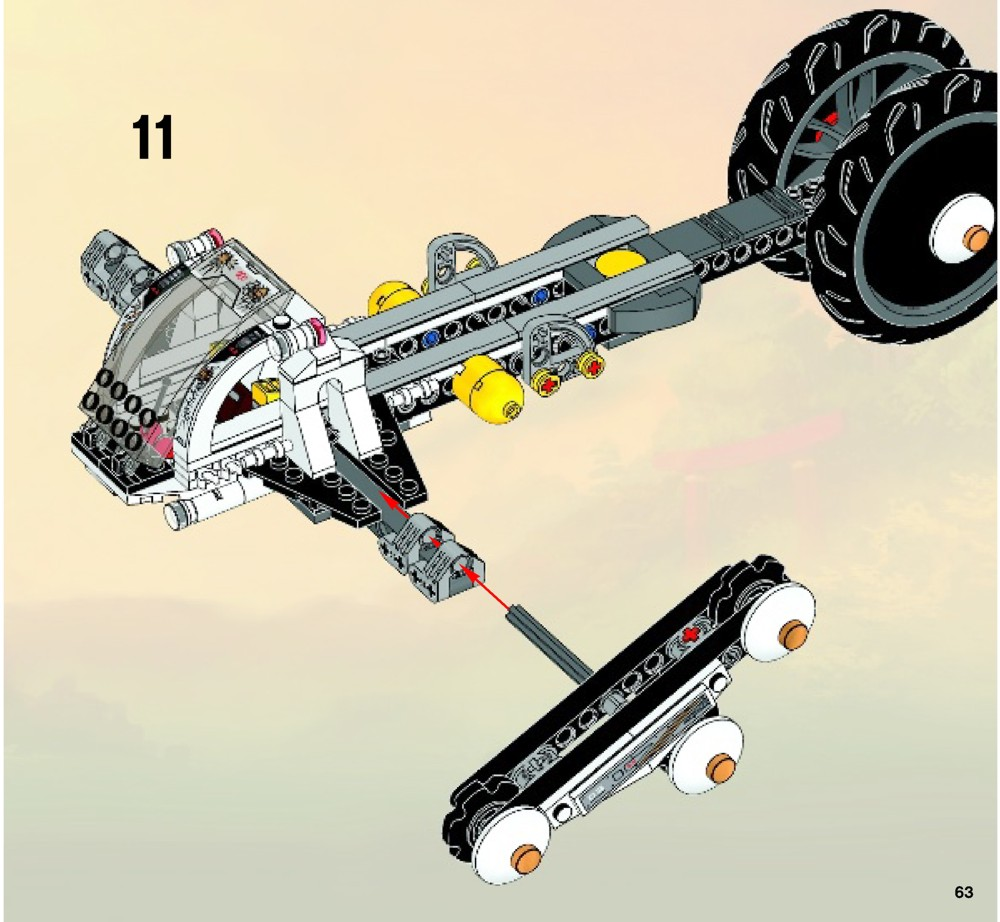 lego ninjago ultra sonic raider instructions