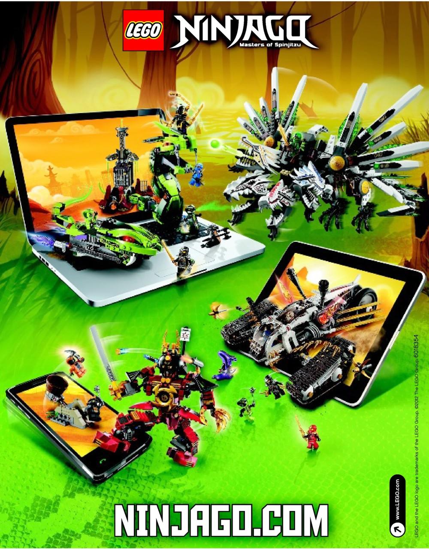 Lego epic dragon battle instructions 9450 ninjago - Dragon ninjago lego ...