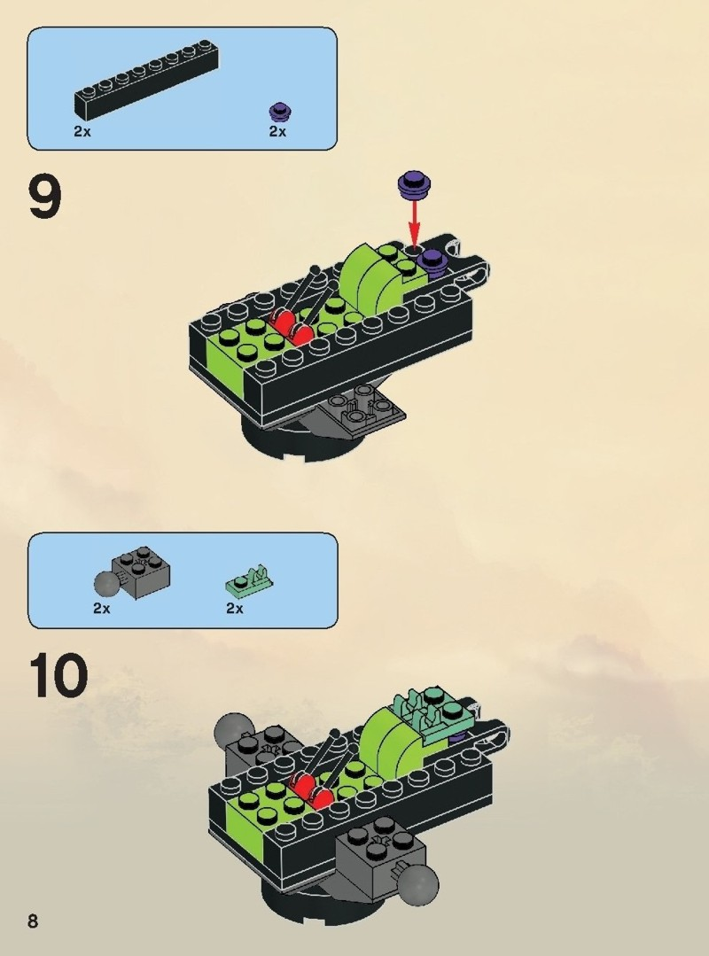lego ninjago brick instructions