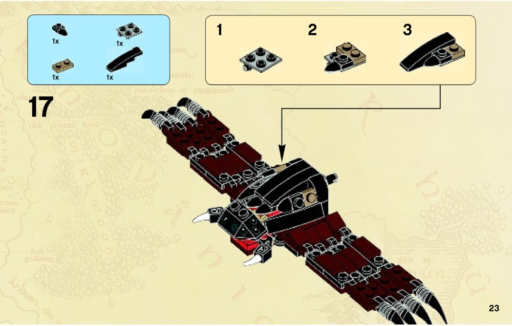 Lego Lord Of The Rings Shelob Attacks Instructions