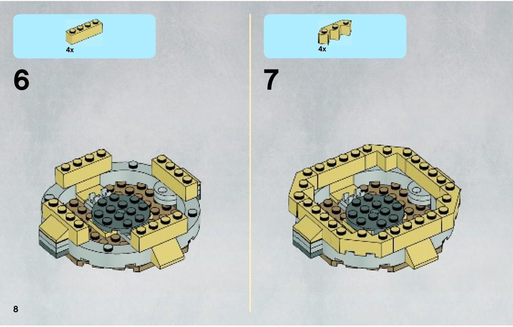 LEGO Desert Skiff Instructions 9496, Star Wars