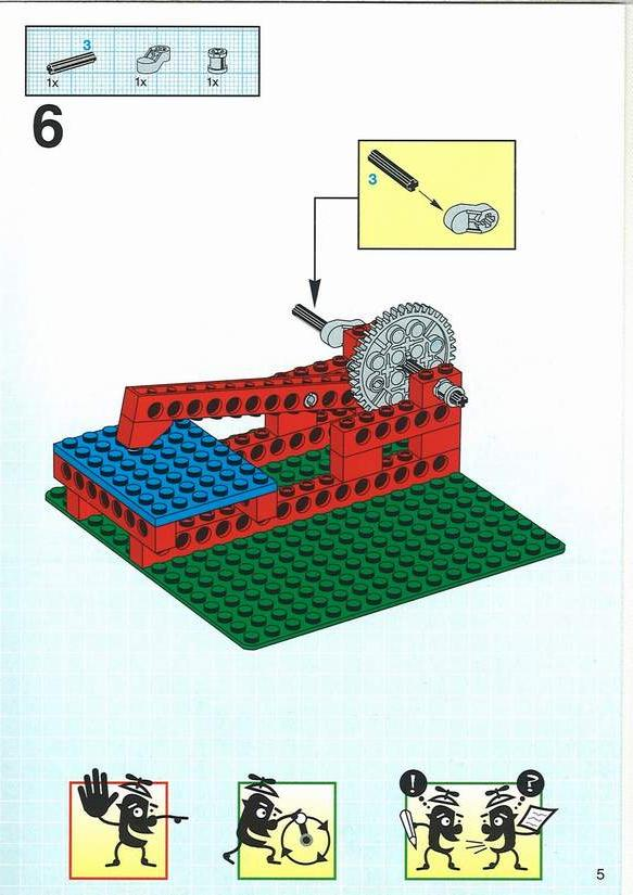 simple lego building instructions