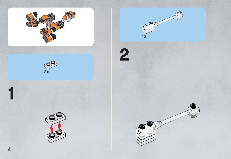 lego star wars pod racer instructions