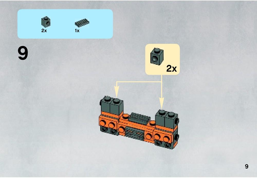 lego cloud city instructions