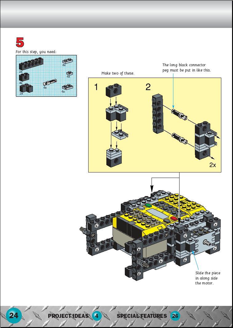 Lego Robotics Invention System Instructions 9719 Technic Mindstorm