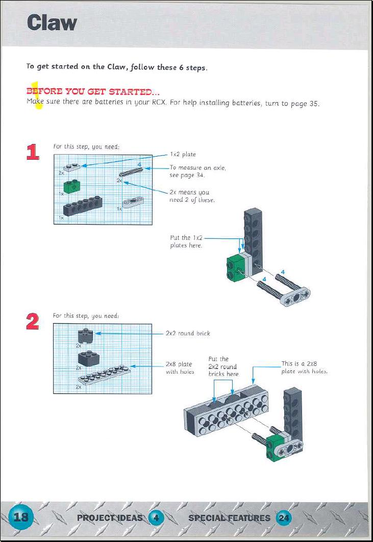 LEGO Extreme Creatures Instructions 9732, Technic: Mindstorm