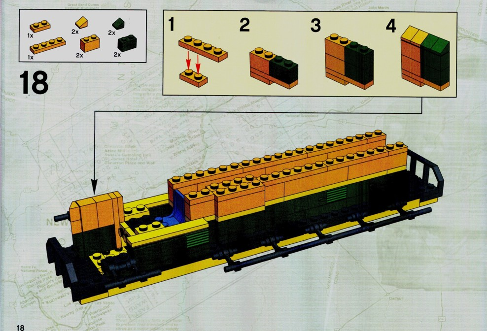 Lego Bnsf Train Instructions 2018 Images Pictures Lego Ideas