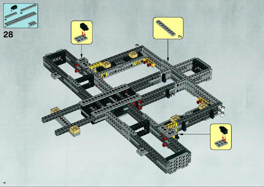 lego star wars millennium falcon instructions