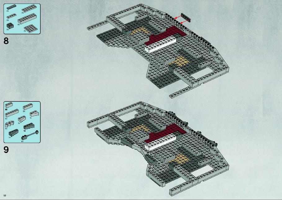 lego star wars millennium falcon 10179 instructions