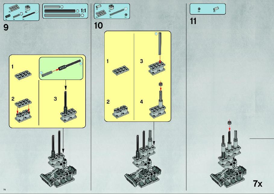 lego millenium falcon 10179 instructions