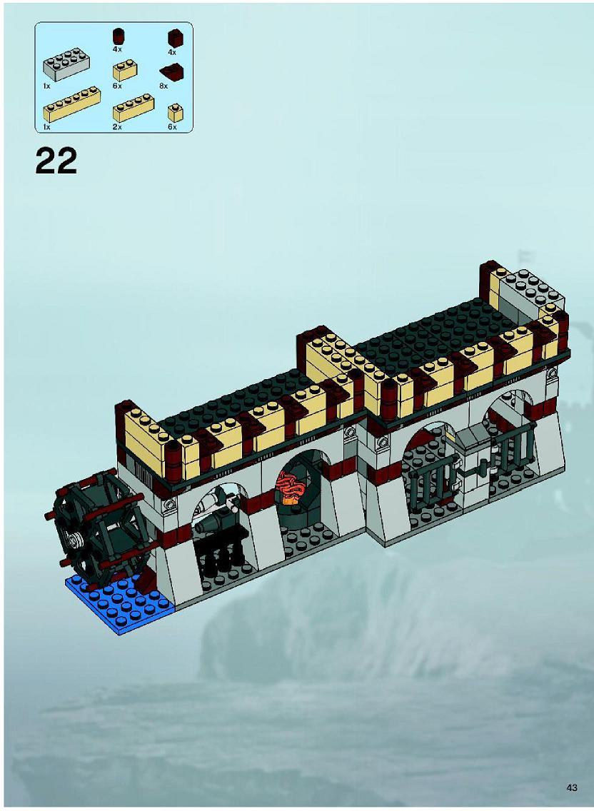 lego medieval castle instructions