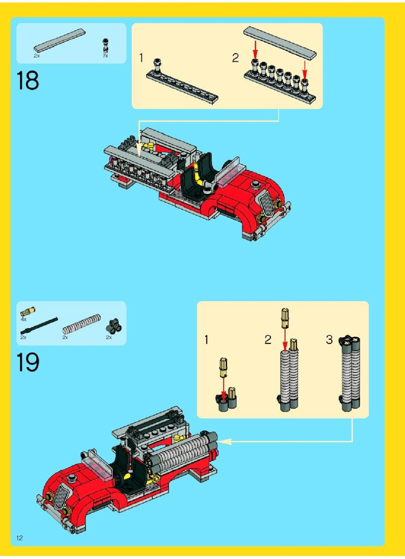lego city fire instructions