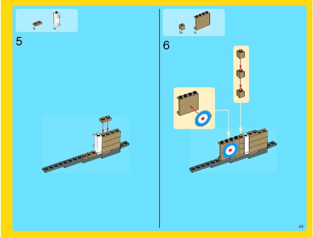 lego sopwith camel instructions