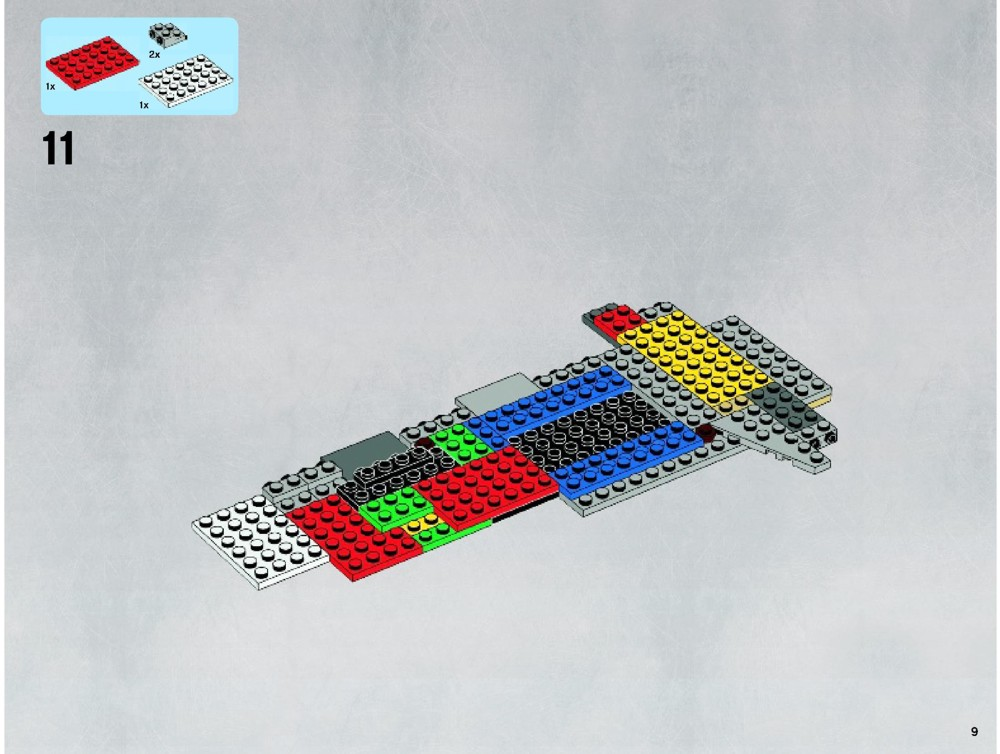 Lego B Wing Instructions 10227