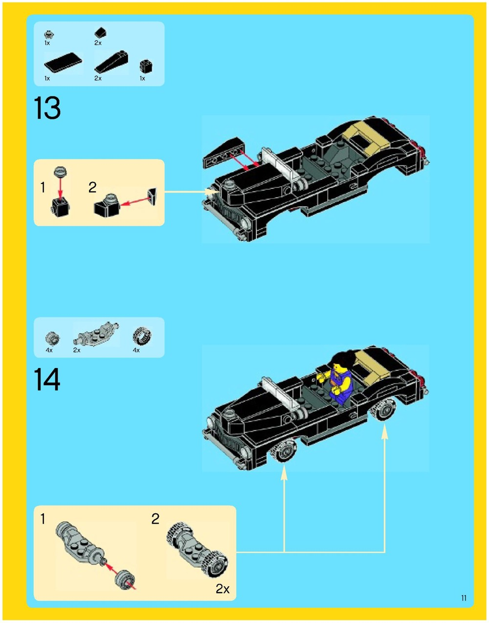 lego palace cinema instructions