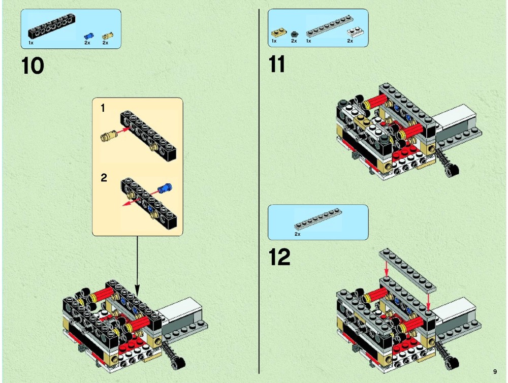 lego x wing starfighter instructions