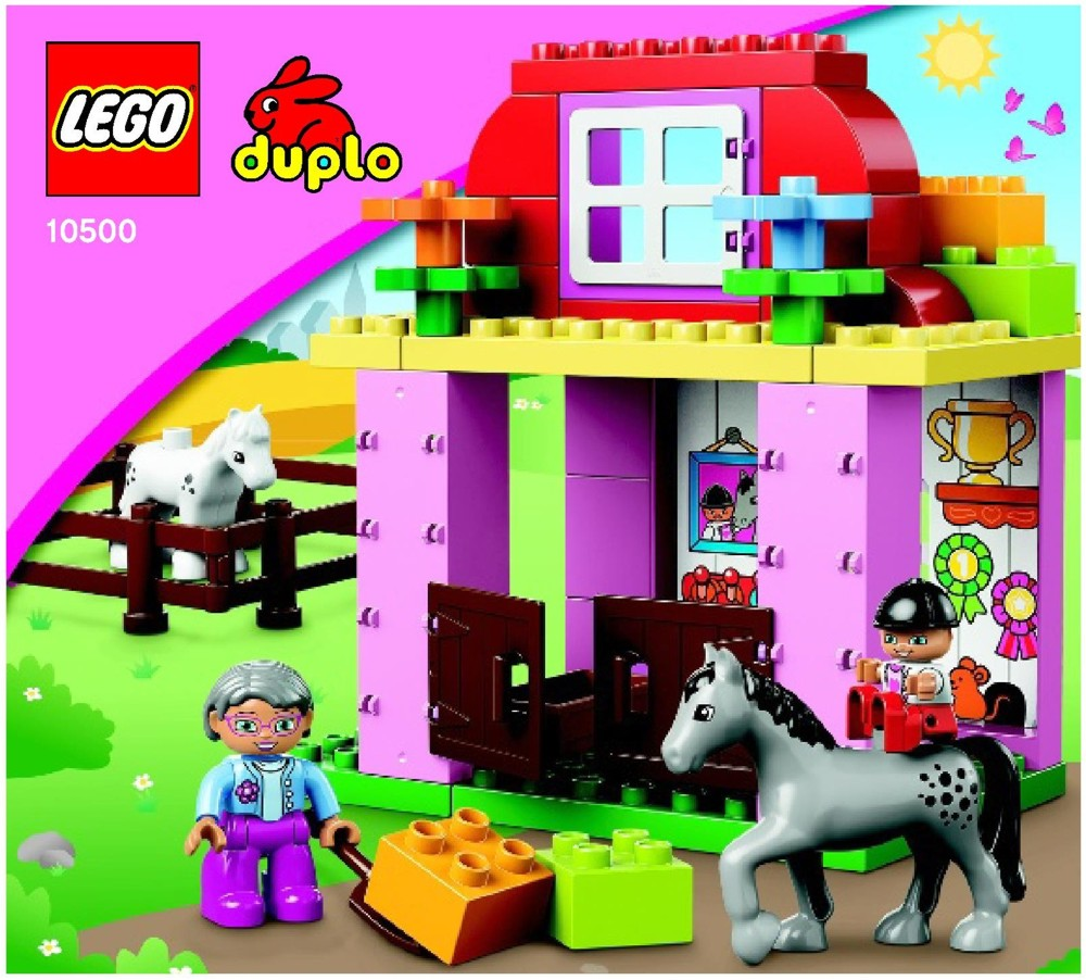 Lego Horse Stable Instructions 10500 Duplo