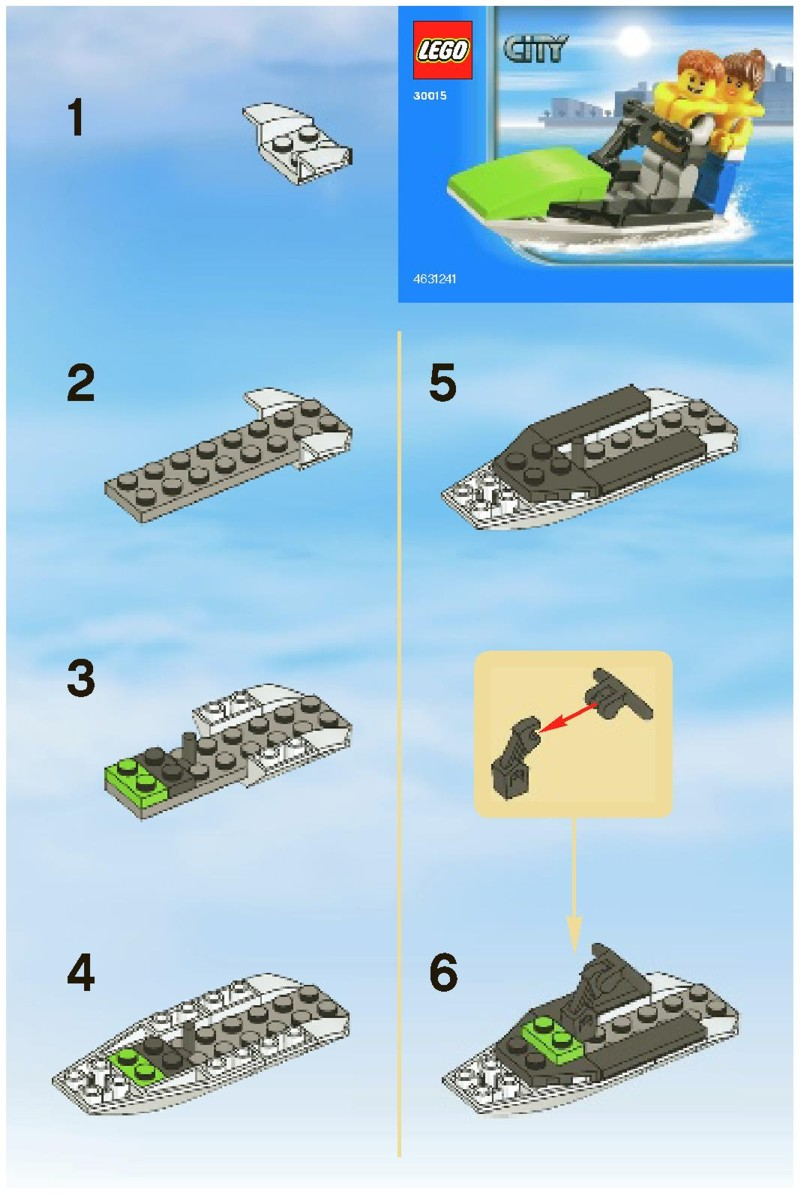 how to make a jet out of legos