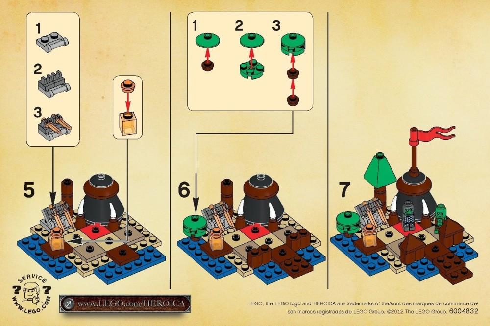 Lego Ganrash Instructions 30170 Games