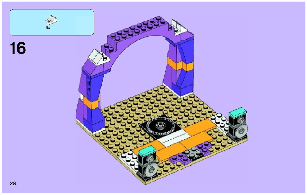 Brick Instructions Lego Friends