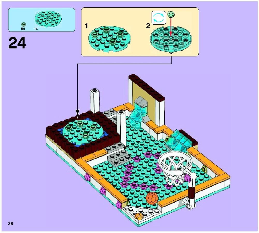 lego com friends instructions