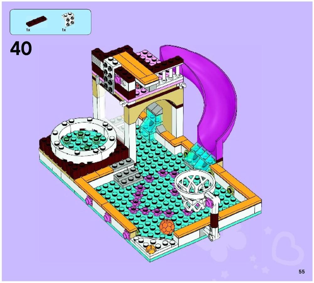 Lego Heartlake City Pool Instructions 41008 Friends