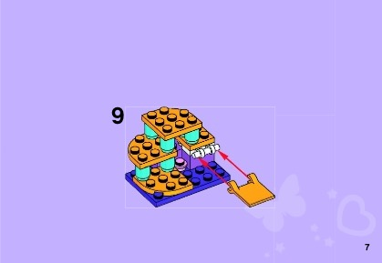 Lego Friends Cats Playground Instructions