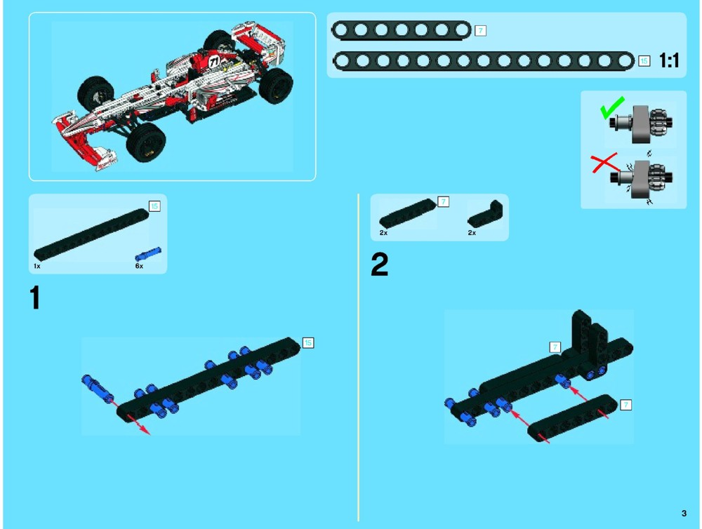 lego grand prix racer instructions 42000 technic. Black Bedroom Furniture Sets. Home Design Ideas