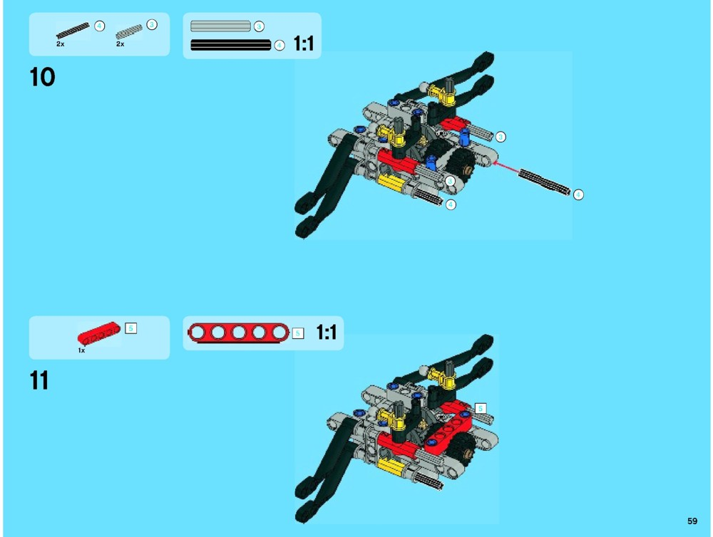 lego 42000 motorized - photo #28