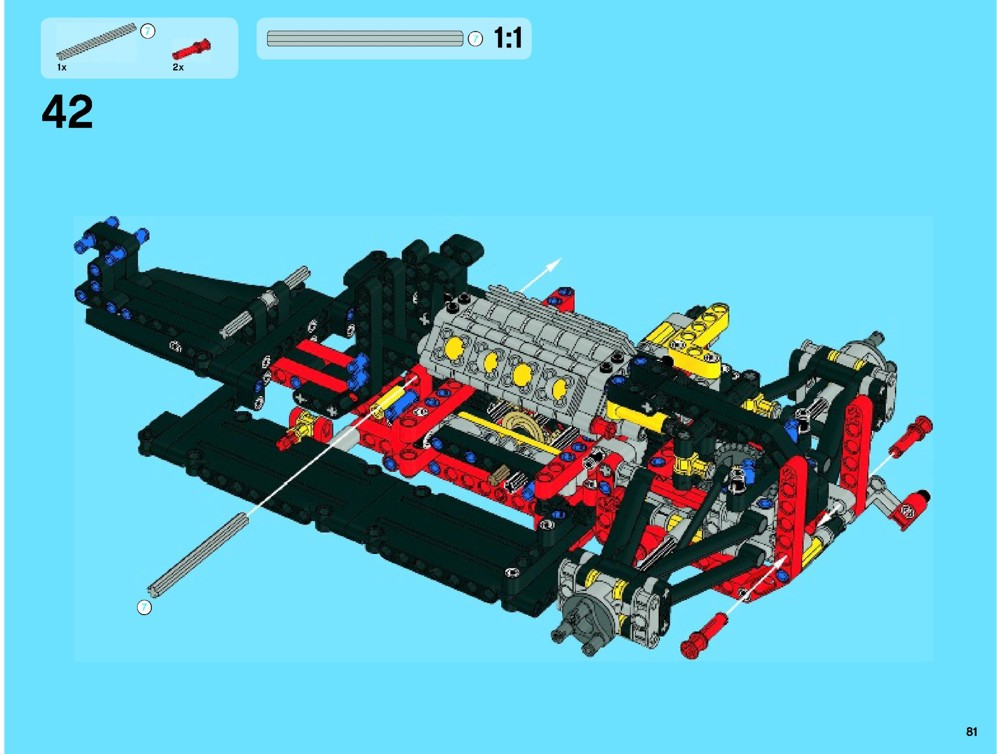 lego 42000 motorized - photo #36