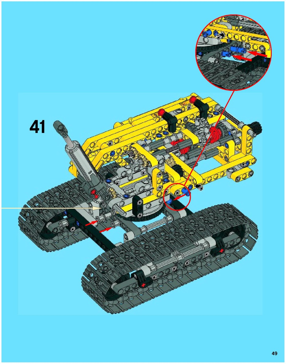 lego technic 8049 instructions