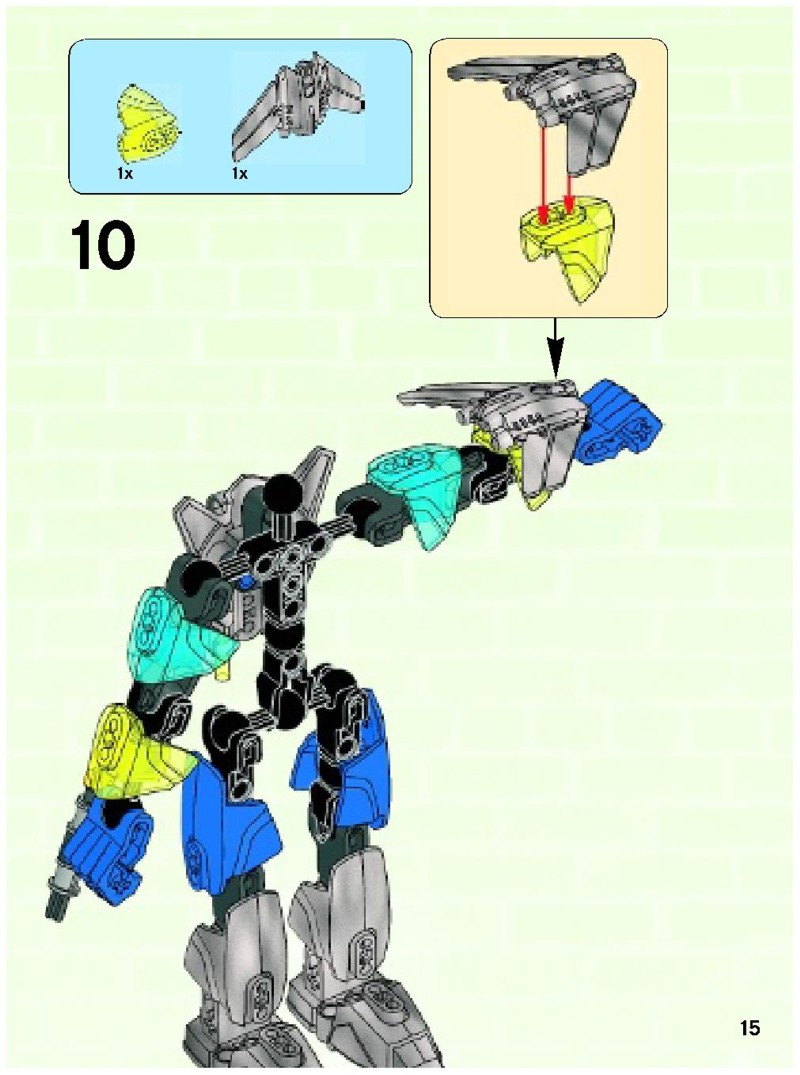 lego hero factory surge instructions