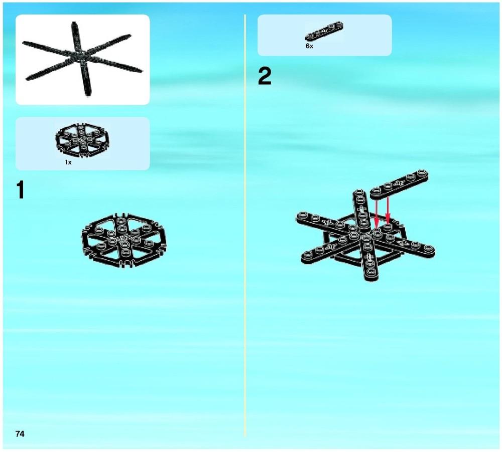 lego coast guard helicopter instructions
