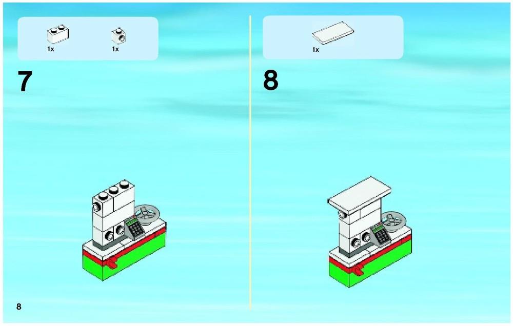 lego city 60016 instructions