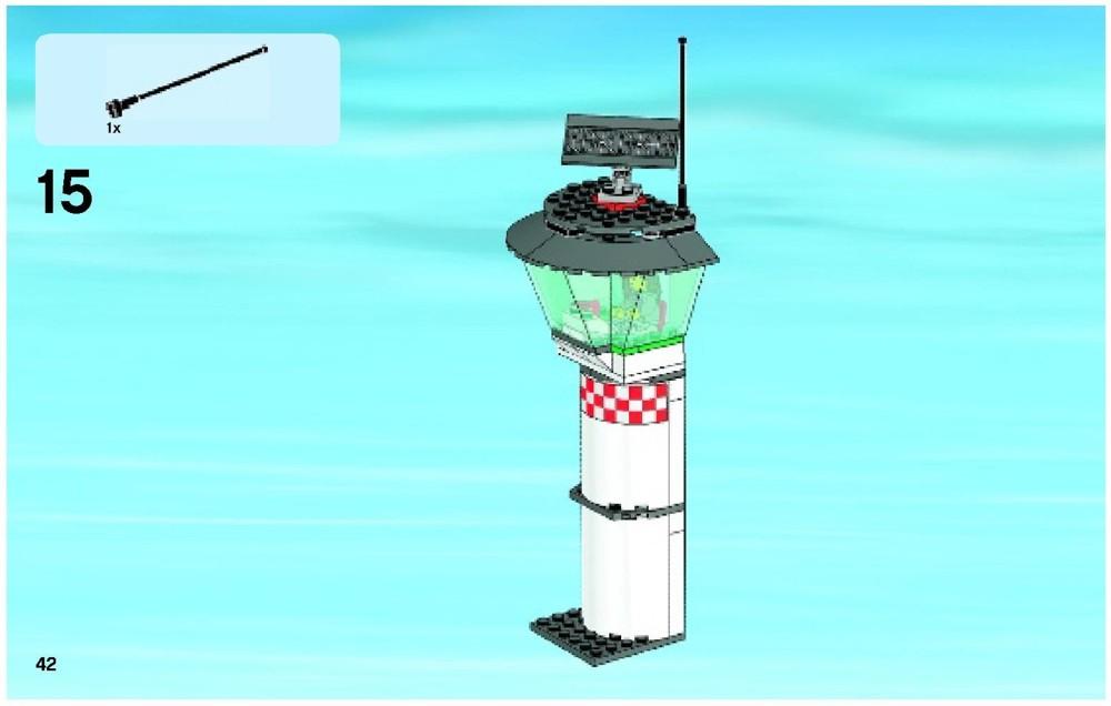 Lego City Cargo Terminal Instructions
