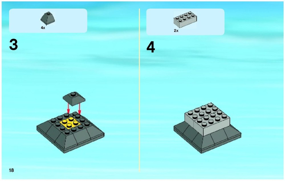 lego city square instructions