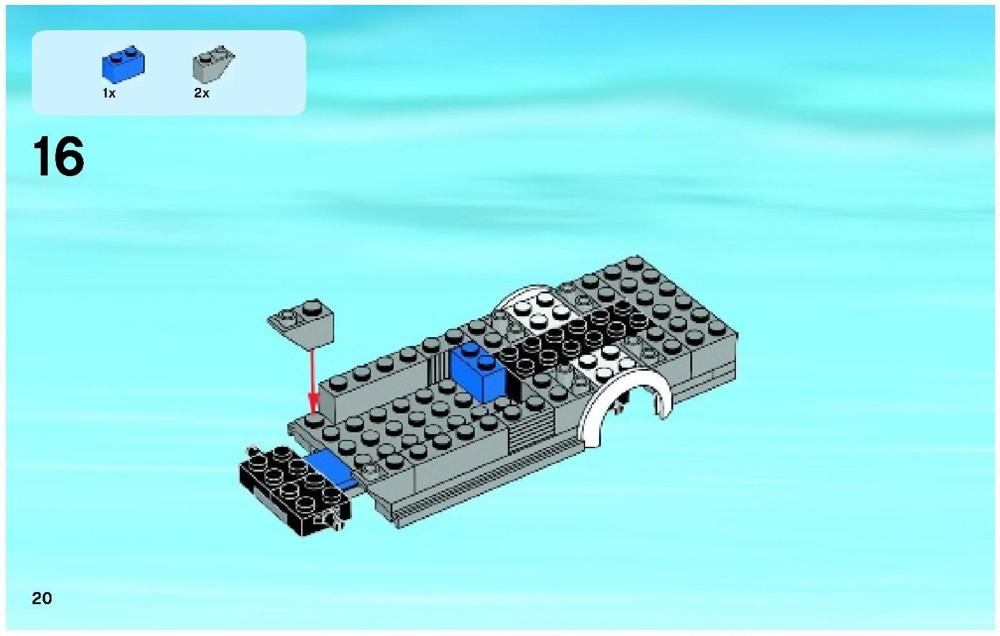 lego city camper van instructions