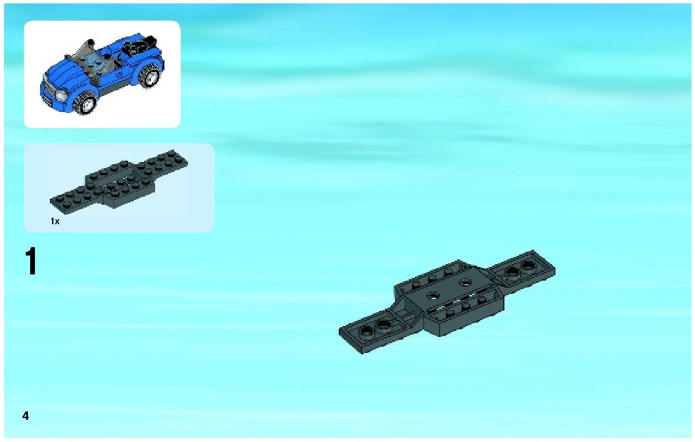 lego city auto transporter instructions