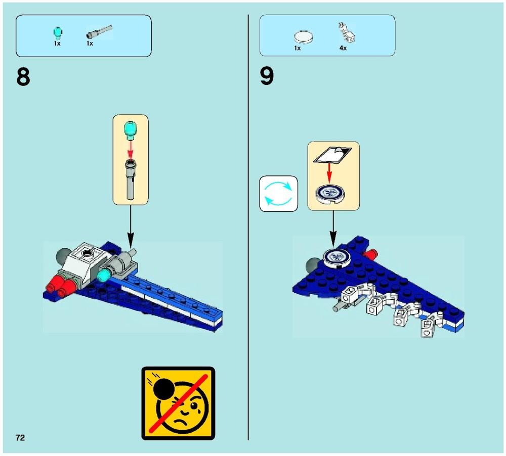 lego chima eris eagle interceptor instructions