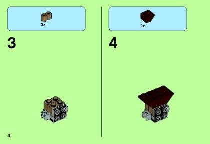 how to build a lego gorilla