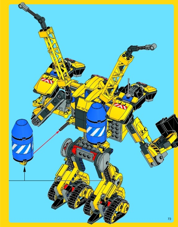 Pictures of Lego Movie Emmet Construction Mech Instructions