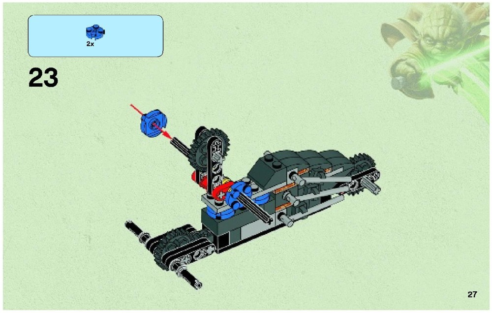 corporate alliance tank droid lego instructions