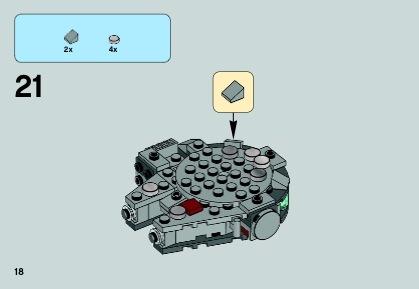 LEGO Millennium Falcon Instructions 75030, Star Wars ...