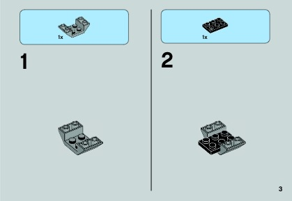 lego tie advanced prototype instructions