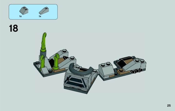 LEGO Battle on Saleucami Instructions 75037, Star Wars ...
