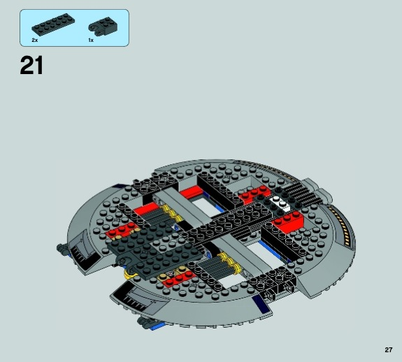 lego star wars how to build a mini gunship
