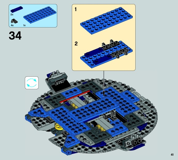 lego star wars droid gunship instructions