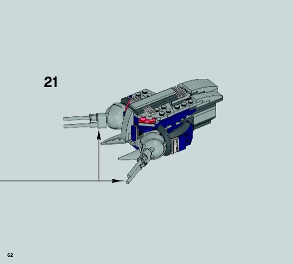 lego droid gunship instructions