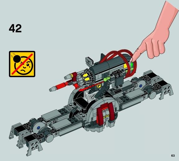 lego star wars geonosian cannon instructions