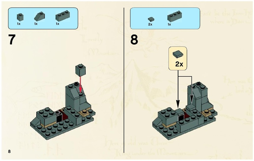 Lego Riddles For The Ring Instructions